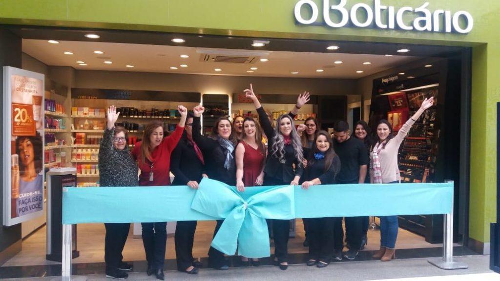 inauguração o boticário big 1