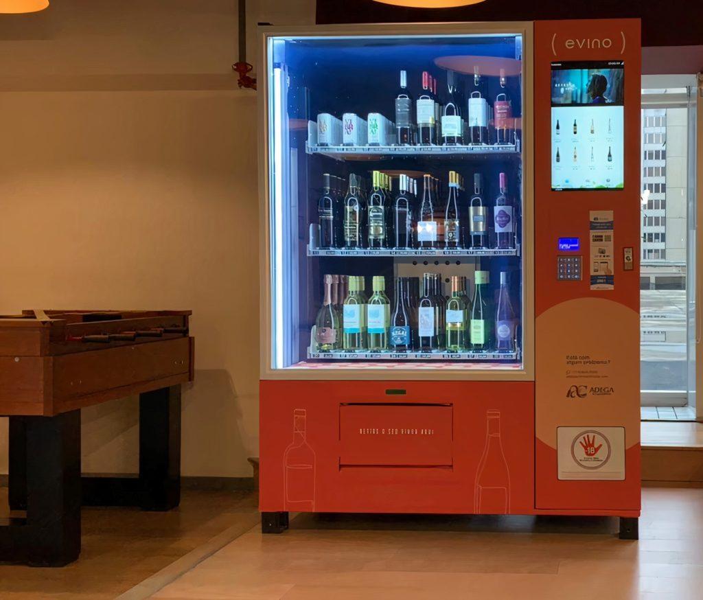 Vending machine da Evino